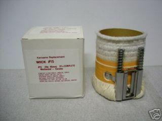 COMFORT GLOW   Kerosene Heater Wick Model GR8B, GRW 8