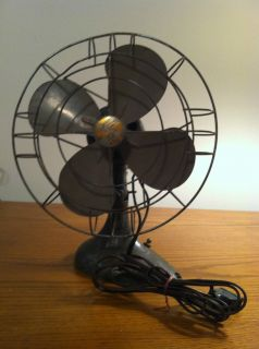 VINTAGE AIRFLOW DESK FAN