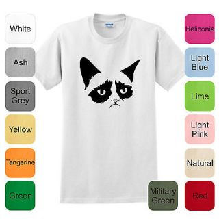 Cat T Shirt Meme Kitten Funny Reddit Internet Humor College Tard MS 21
