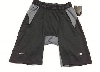 Mens LAYER 8 compression quick dry underwear base layer shorts NWT $