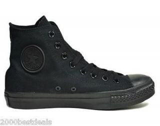 CONVERSE SHOES ALL STAR CHUCK TAYLOR MONOCHROME BLACK GIRLS 3S121