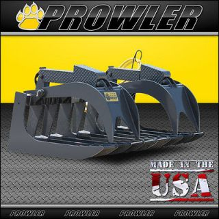 Duty Root Grapple For Skid Steer Loader And Compact Tractors  84 inch