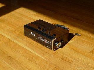 Panasonic Flip Alarm Clock Radio Copal Movement Eames Danish Howard