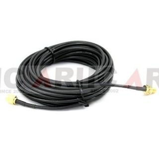 New 9m WiFi WAN Router Wi Fi Antenna Extension Cable RP SMA for D link
