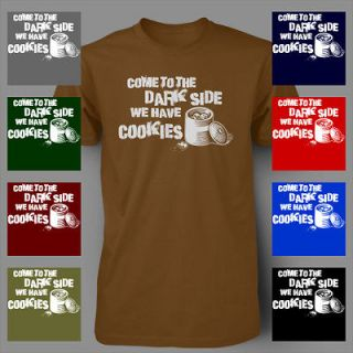 Come to the Darkside We Have Cookies STAR WARS Mens T Shirt