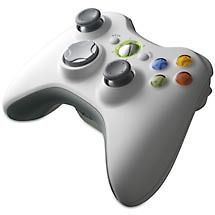 Microsoft Xbox 360 White Wireless Controller   Used   Great Condition
