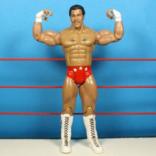 WWE Wrestling ROCKY JOHNSON Classic Superstars FIGURE WWF JAKKS *1301