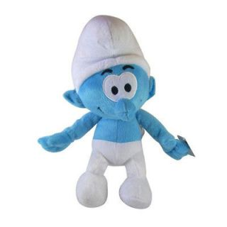 3D MOVIE The Smurfs Plush Doll Disney toy 9 COOL new/ tag BOY clumsy
