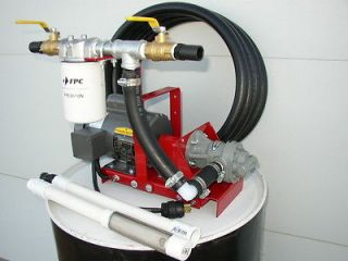 New Waste Oil Transfer/Filtr ation Pump,Biodiesel ,WVO