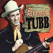 Ernest Tubb TEXAS TROUBADOUR 100 Tracks NEW SEALED Box Set 4 CD