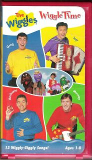 Wiggles, The Wiggle Time (VHS, 2000, Clam Shell)