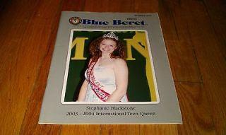 Blue Beret October 2003 Wally Byam Caravan Club International