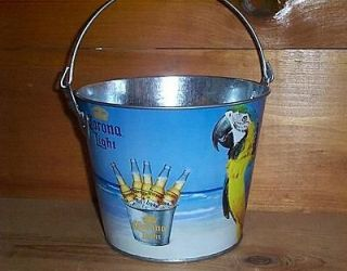 CORONA EXTRA LIGHT MCCAW PARROT BAR PUB BEER ICE BUCKET COOLER NEW