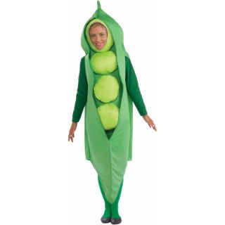 PEA POD tunic funny mens womens adult costume halloween food vegetable