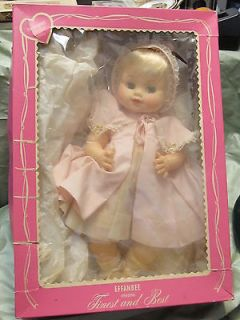 VINTAGE EFFANBEE DURABLE BABY DOLL IN ORIGINAL BOX WITH ORIGINAL