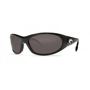 New Costa del Mar Swordfish Polarized Sunglasses Black/Gray 400