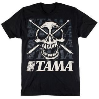 TAMA Drums Set Kit Jolly Roger S M L XL XXL Shirt NEW