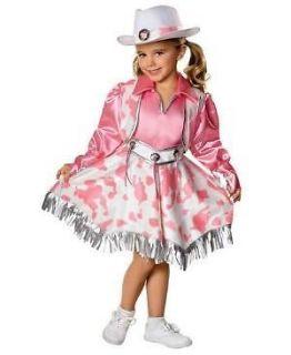 pink outfit WESTERN DIVA girl child kid MEDIUM 8 10 Halloween Costume