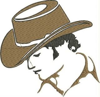 COWGIRLS AND COWBOYS 20 MACHINE EMBROIDERY DESIGNS