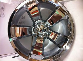 20 Inch Chrome Dodge Charger SRT 8 Factory OE Replica Wheels Rims