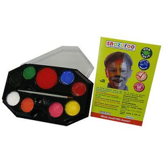 Color Rainbow Face Painting Makeup Kit by Snazaroo