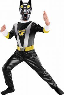 Power Rangers RPM Black Ranger Costume Size 10 12 Large New Standard L