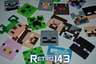 Minecraft Face Skin Necklaces Custom Made Video Gaming Merchandise