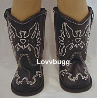 Newly listed Black Cowboy Boots for American Girl Doll VALUE SELECTION