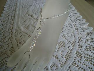 Sandals ~Beach Wedding ~ Bridal / Bridesmaid ~ Crystal Glass Beads AB