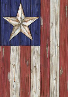 BARN Star RED Blue STRIPED White Star BOARD 0331# New Large Flag