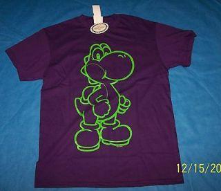 NWT Size XL Mens Nintendo Super Mario Bros Yoshi Shirt
