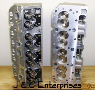 327 350 CHEVY ALUMINUM CYLINDER HEADS 210CC   2.05   .650 LIFT SPRINGS