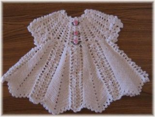 CROCHET PATTERN for APPLE BLOSSOM Baby Dress by REBECCA LEIGH   6