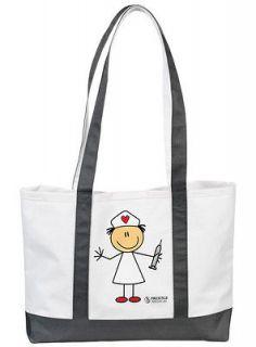 Nurse / Nurses Tote Bag  Cute Prints Stick Nurse Dotty Nurse Betty