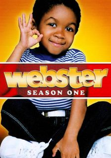 WEBSTER: COMPLETE 1ST SEASON DVD (NEW & SEALED) EMMANUEL LEWIS