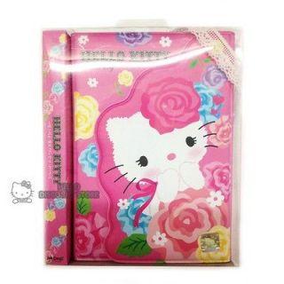 Hello Kitty Planner / Scheduler /Organizer  Pink Flowers