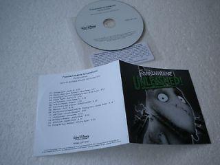 Frankenweenie Unleashed Promo CD Album V/A Robert Smith, Karen O