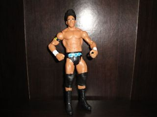 Darren Young Mattel Basic WWE wrestling figure Nexus wade barrett