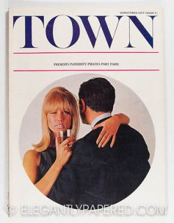 PATTIE BOYD Len Deighton DAVID HAMILTON Bailey EDWARD GOREY Town