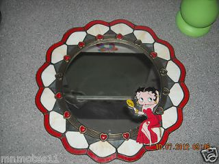 Newly listed Danbury Mint ~ Betty Boop ~ Stained Glass Mirror