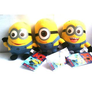 Me Movie Minion Plush Toy Set of 3,Stewart Dave Jorge with tag