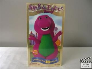 sing dance with barney