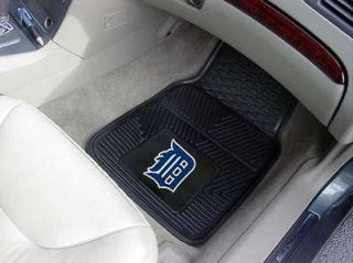 MLB   Detroit Tigers Heavy Duty 2 Piece Vinyl Car Mats