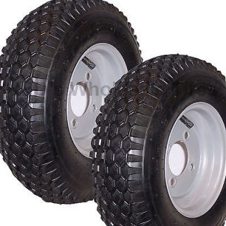 00 8 garden snapper riding lawn mower STUD TIRE RIM WHEEL ASSEMBLIES