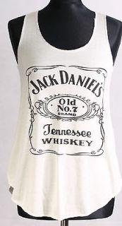 New women /ladies jack daniel vest/top /t shirt women/ ladies good