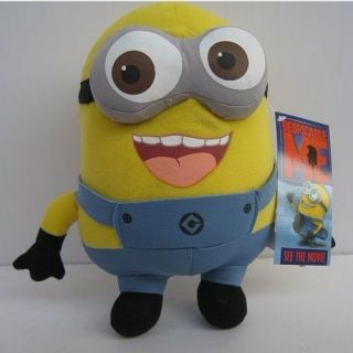 Despicable Me Minion Doll 8 9 Plush Toy Jorge New~Tag Yellow big size