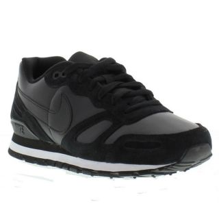 Nike Shoes Genuine Air Waffle Trainer Mens Shoe Black Black Sizes UK 7