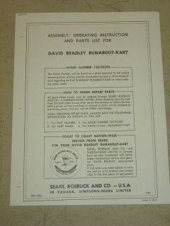 david bradley manual
