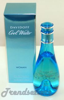 Davidoff COOL WATER for Women Mujer 3.4oz Eau de Toilette Spray 100ml