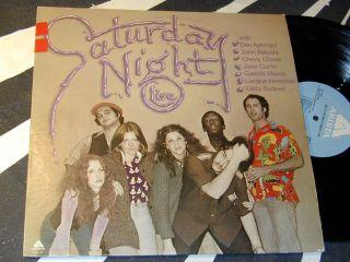 SATURDAY NIGHT LIVE Arista LP 1976 With DAN AYKROYD & JOHN BELUSHI